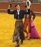 Diego Ventura noite triunfal no Montijo.