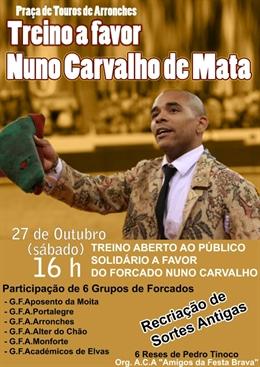 Arronches - Treino Público para Nuno Carvalho