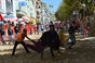 Imagens dos festejos de rua na Moita