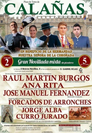 Ana Rita e Amadores de Arronches em Calaña (Huelva)