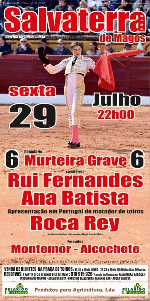 Corrida de 29/7 em SALVATERRA - Bilhetes à venda a partir de 17