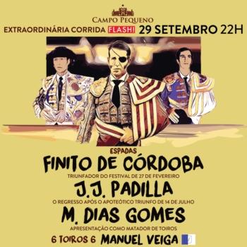 Finito de Córdoba em ombros na corrida de Cabra