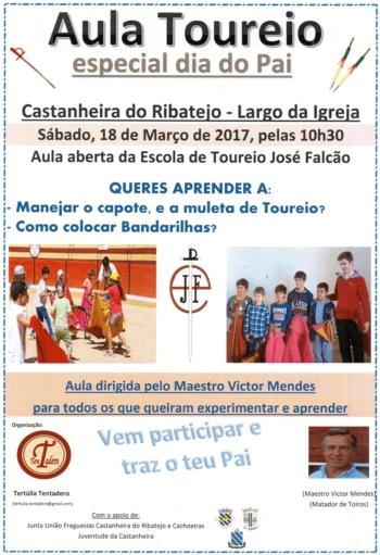 Tertúlia Tentadero promove aula de toureio