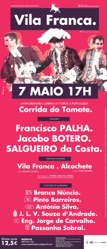 Corrida do Tomate 2017 na Palha Blanco - Cartel Rematado