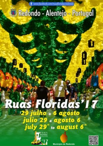 Festas das Ruas Floridas, em Redondo, com corrida de toiros a 4 de agosto