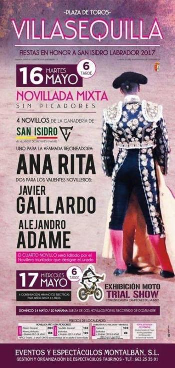 Cavaleira Ana Rita em bom plano