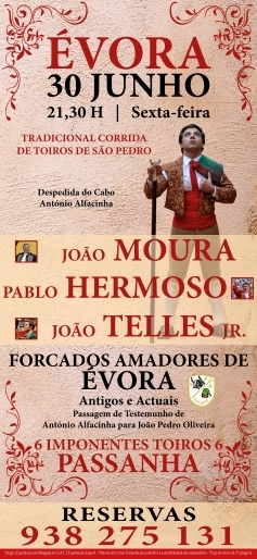 Próxima corrida em Évora