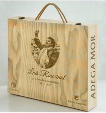 Adega Mor lança gama de vinho comemorativa dos 30 anos de alternativa de Luís Rouxinol