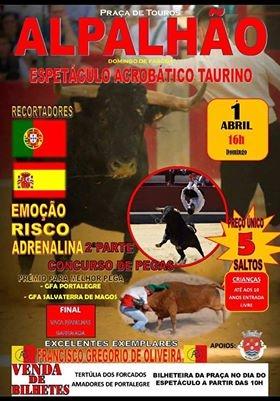 Concurso de pegas em Alpalhão -1 de abril