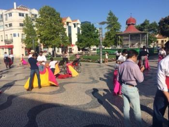 Demonstração de Toureio nas ruas do Montijo