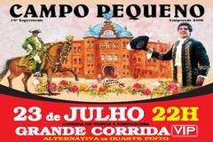 Grande Corrida VIP e Alternativa de Duarte Pinto.
