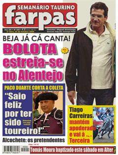 Farpas - edição 509 - 5ª feira, 22 de Outubro 2009