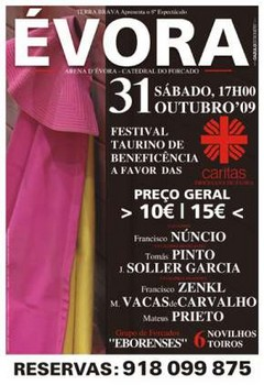 Festival de Évora - entrevistas de Dr. João Botas (Cáritas) e do Empresário Carlos Pegado (Terra Brava)