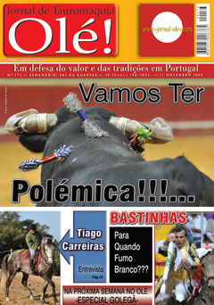 Jornal Olé! Nº 173 - Amanhã nas Bancas!