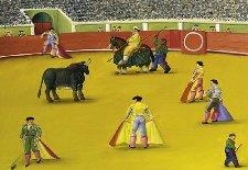 Fernando Botero, Pintura Aficionada