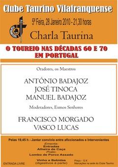 Maestros no Clube Taurino Vilafranquense