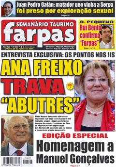 Farpas 527 - 5ª feira, 25 de Fevereiro 2009