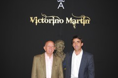Victorino Martin visitou a II Feira do Cavalo e do Toiro de Badajoz