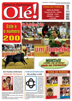 Jornal Olé! Quarta-Feira nas Bancas