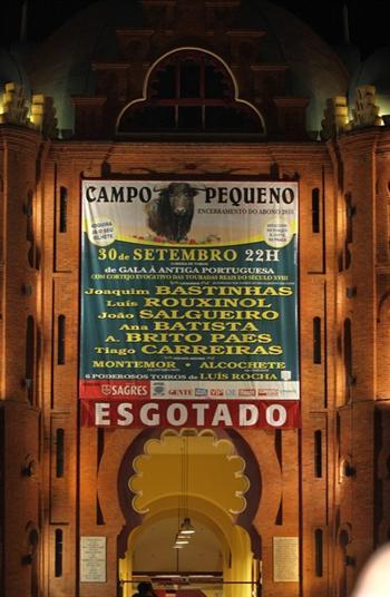 Corrida de Gala À Antiga Portuguesa no Encerramento do Abono de 2010