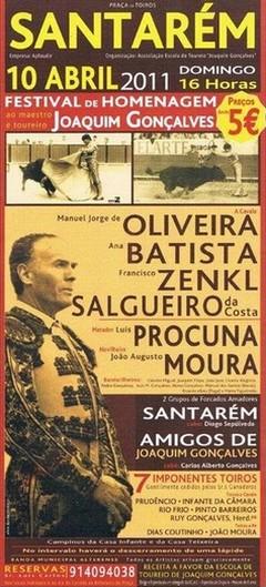 Festival Misto em Santarém de homenagem a Joaquim Gonçalves
