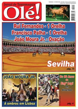 Jornal de Tauromaquia Olé! já nas bancas!