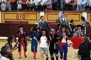Saída a ombros para Ventura e Leonardo Hernandez em Badajoz