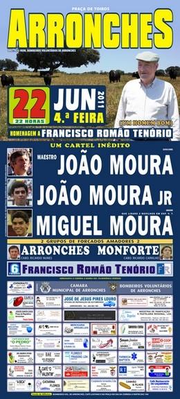 Homenagem a Francisco Romão Tenório em Arronches