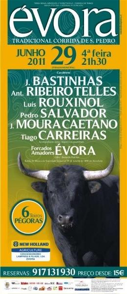 Tradicional Corrida de S. Pedro esta noite em Évora