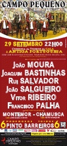 Corrida de Gala à antiga portuguesa para  encerramento do abono 2011