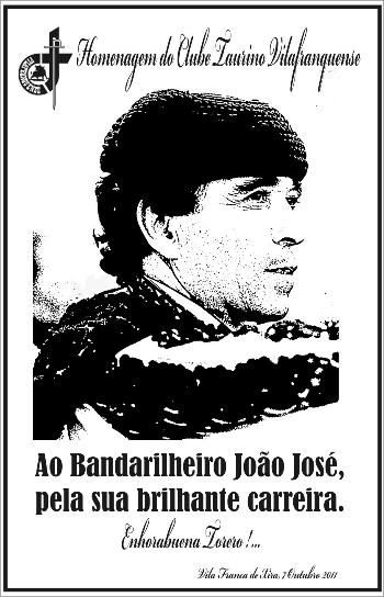 Bandarilheiro João José homenageado em Vila Franca de Xira