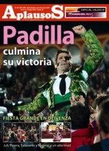 Aplausos dedica capa ao regresso de Padilla às arenas