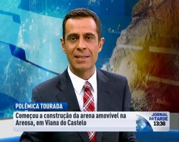 A RTP Esteve em Viana do Castelo a Acompanhar a Construção da Desmontável