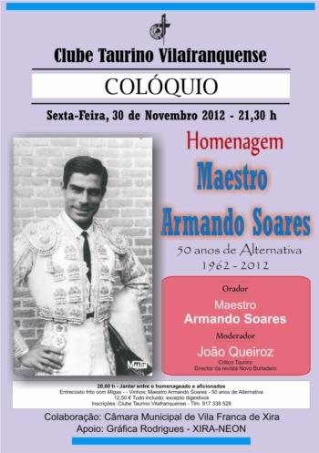 Homenagem ao Maestro Armando Soares pelos seus 50 anos de alternativa
