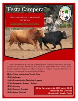 Festa Campera dos Amadores de Cascais na Varela Crujo