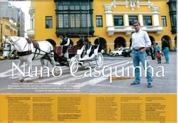 Nuno Casquinha entrevistado pela revista Fiesta Brava