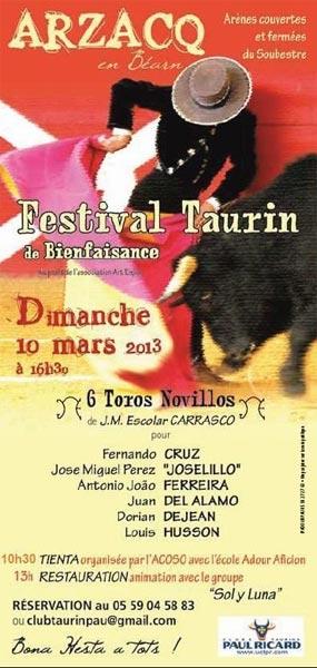 António João Ferreira em Festival Taurino em França
