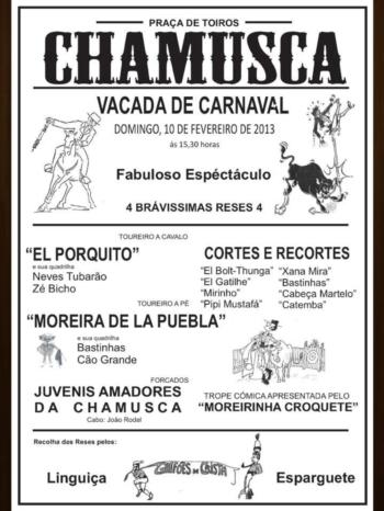 Vacada de Carnaval na Chamusca