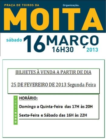 Bilhetes à venda para o Festival de Nuno Carvalho na Moita