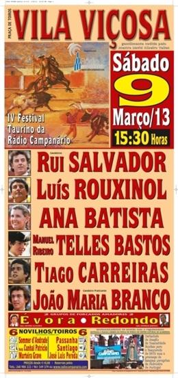 Adiado o IV Festival Taurino da Rádio Campanário