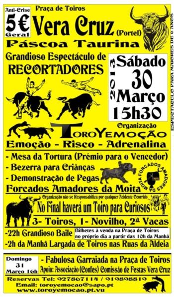 Páscoa Taurina em Vera Cruz (Portel)