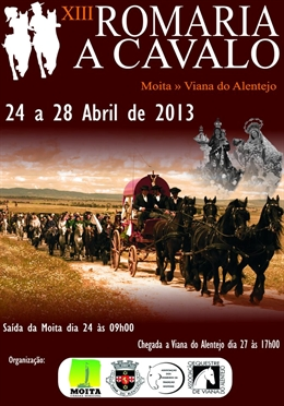 Moita - XIII Romaria a Cavalo - Viana do Alentejo