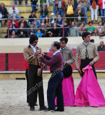 Parreirita Cigano, João Martins e Bernardo Campino foram os vencedores do prémio