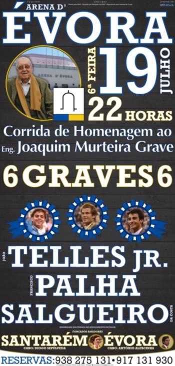 Évora presta homenagem ao Engº. Joaquim Murteira Grave no dia 19 de Julho