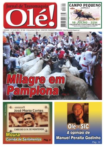 Olé Jornal de Tauromaquia Nº 300