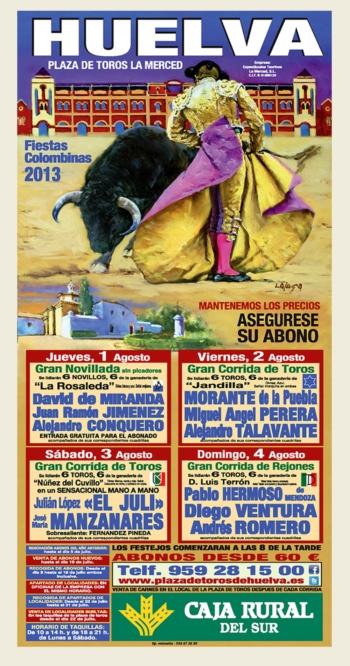 Feira de Huelva de 1 a 4 de Agosto