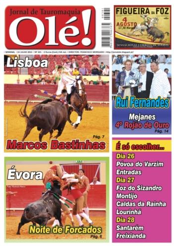 Olé Jornal de Tauromaquia Nº 301
