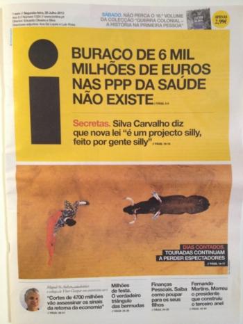 Comunicado PRÓTOIRO: Reacção à noticia no Jornal I