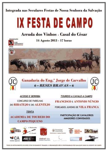 IX Festa de Campo em Arruda dos Vinhos