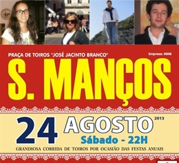 Vencedores dos Bilhetes para hoje (24.AGO) em São Manços